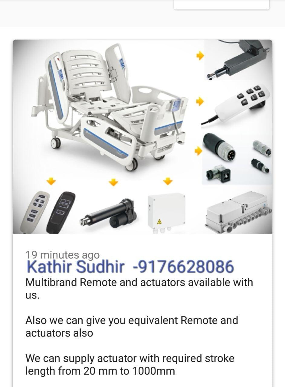 Actuators and Remote